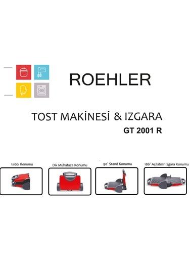 GT 2001R Kırmızı Granit Tost Makinesi-Roehler